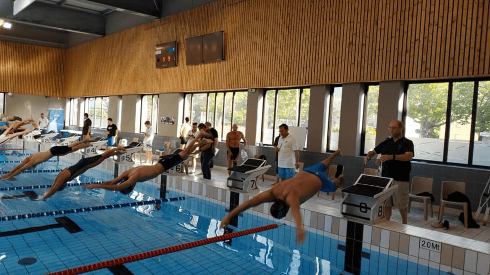 Compétition de natation 2019